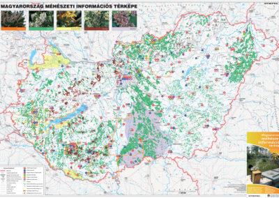 Magyarország méhészeti térkép