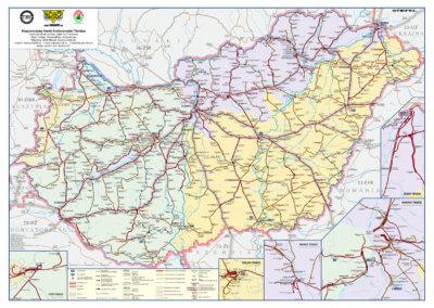 BOBO Kft. Magyarország vasúti térképe