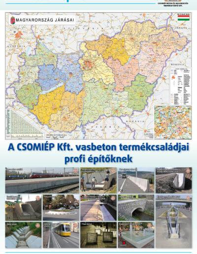 CsomiÉP Kft. tervezőnaptár 2014