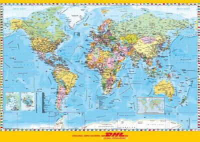 DHL Föld országai