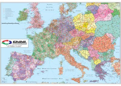 Ghibli Európa irányítószámos könyöklő