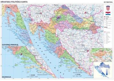 Horvátország közigazgatása