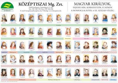 Középtiszai Mezőgazdasági Zrt. Magyar királyok könyöklő