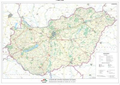 Gere Pincészet Villány vintage térkép