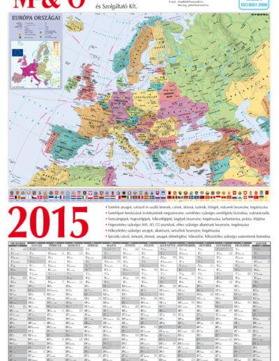 Magyar-Osztrák beruházási Kereskedelmi Szolgáltató Kft. tervezőnaptár 2015