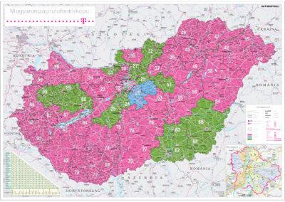 Magyar Telekom Magyarország telefontérkép