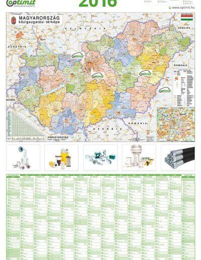 Optimit Hungária Kft. éves tervezőnaptár 2015