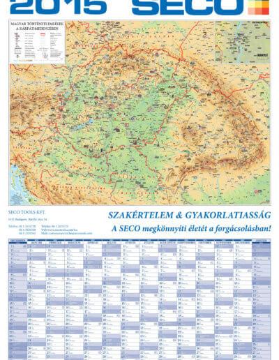 Seco Kárpát-medence tervezőnaptár