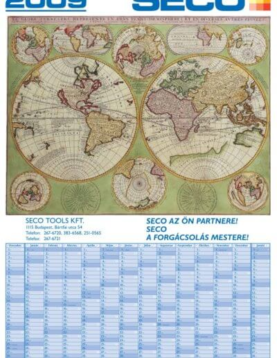 Seco tervezőnaptár 2009