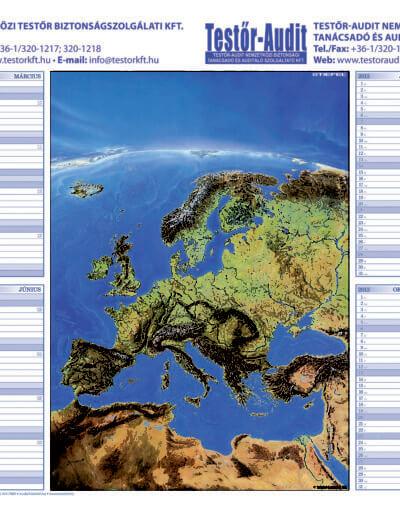 Testor_Kft_eves_tervezonaptar_Europa_panorama_terkeppel_2013