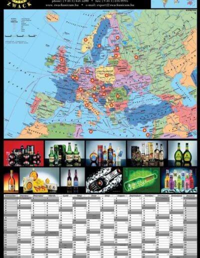 Zwack tervezőnaptár 2003